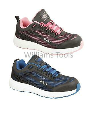 Northwest Talston Safety Shoes Trainers Ladies Womens Work Steel Toe Cap Boots