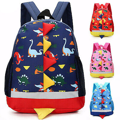 CHILDREN DINOSAUR BACKPACK Kids Cute Backpacks Boys Girls