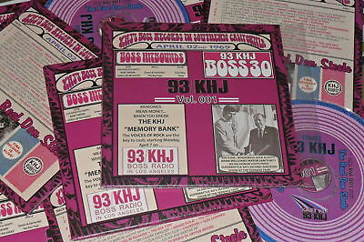 1969 THE REAL DON STEELE 93/KHJ ~ Factory CD Mini LP +FREE CARD BOSS HOLLYWOOD