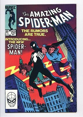 Amazing Spider-Man #252 Vol 1 Near Perfect High Grade 1st App of Black Costume