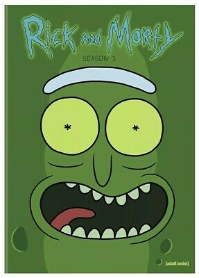 Rick and Morty: The Complete Third Season (DVD, 2018, 2-Disc Set) Sealed, X8