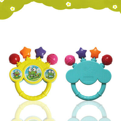 Infant Baby Bell Toy Rattles Newborns Gift Non-toxic Colorful Cartoon Training