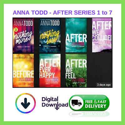 🔥 After Series (1-7) by Anna Todd ✅ DOWNLOAD 📥  Fast Delivery 🔥