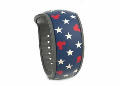 Disney Parks MICKEY MOUSE AMERICANA Stars Magic Band 2 Magicband NIP LR