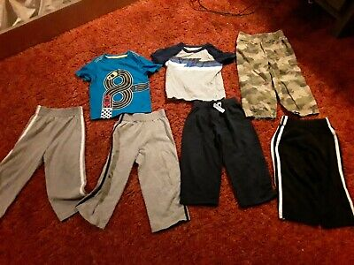Boys 18-24 month lot t shirts and pants crazy 8 garanimals jumping beans