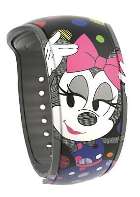 Disney Parks Minnie Mouse Detail is in the Dots Colorful Magic Band 2 Magicband