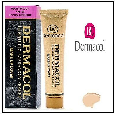 Dermacol Make-up Cover 30g Authentic Full Coverage Foundation Choose Your Shade