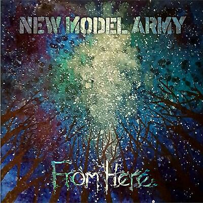 NEW MODEL ARMY 'FROM HERE' CD HARDCOVER MEDIABOOK EDITION (23rd Aug. 2019)