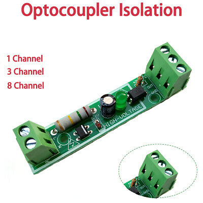 1/3/8 channel opto-isolator breakout for optoisolato, optocoupler