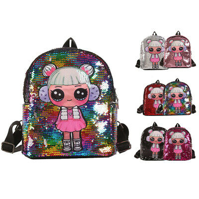 Kids Girls bag Backpack Toddlers Summer Sequins Girls bag Shiny Backpack Girls