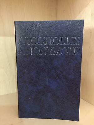 Alcoholics Anonymous Big Book 4Th Edition Paperback Like New Clean Book!!