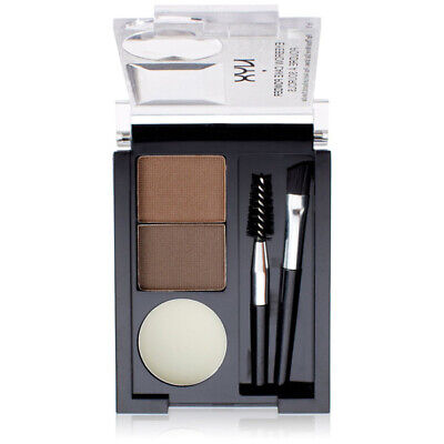 NYX - Eyebrow Cake Powder Dark Brown/Brown - 0.09 oz. (2.65 g)