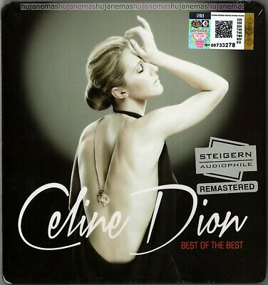 CELINE DION Best Of The Best MALAYSIA DELUXE STEIGERN AUDIOPHILE 2 CD FREE SHIP