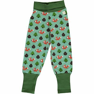 AW19 Maxomorra Busy Squirrel Rib Pants organic cotton scandi trousers joggers