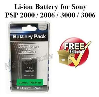 High Quality Replacement Battery for Sony PSP slim lite console 2003 3003 S110