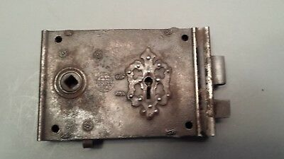 Antique Russell & Erwin Rim Lock Latch July 2 1888 or 1889 Patent Old Patent