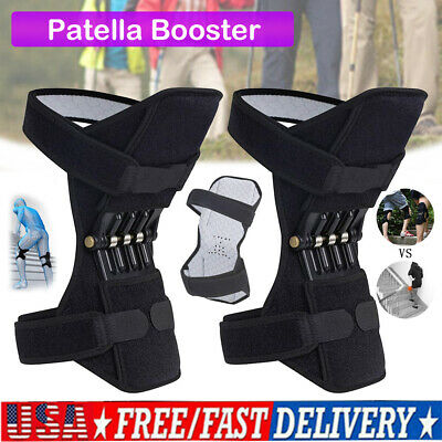 Power Lift Knee Stabilizer Pad Powerful Rebound Spring Force Support Knee USA
