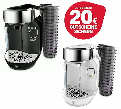 Bosch Tassimo Caddy + Vouchers with Tdisc Capsule Holder Coffee Machine