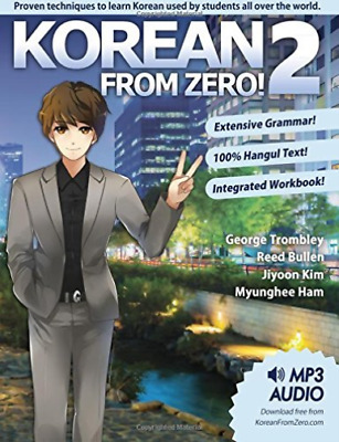 George Trombley-Korean From Zero! BOOK NEW