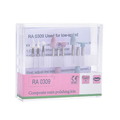 Dental Diamond Burs Composite Polishing Kit For low-speed Contra Angle RA-0309
