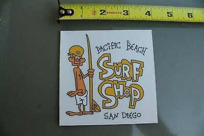 SAN DIEGO SURF Shop VW Bus Pacific Beach Souvenir T-Shirt
