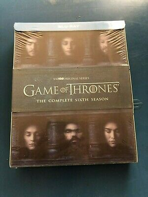 Game of Thrones: The Complete 6th Season 6 (Blu-ray Disc, 2016)