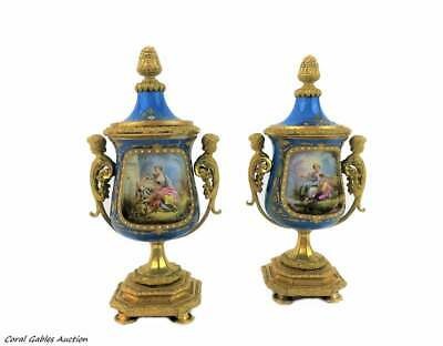 Antique pair of sevres of the 19th century