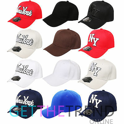 Mens New York Peak Caps Men Plain Cap Newsboy Summer Adjustable Baseball Wear