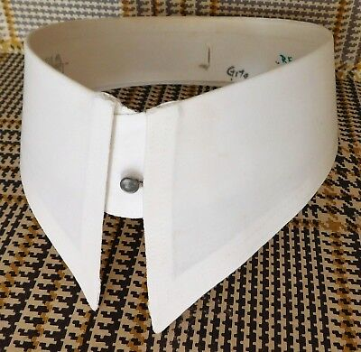 "Rocola shirt collar starched size 15"" detachable vintage 1940s 1950s IMPERFECT"