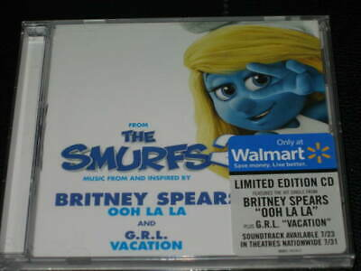 BRITNEY SPEARS - Ooh La La - WALMART LIMITED EDITION CD! w/ G.R.L. Vacation! NEW