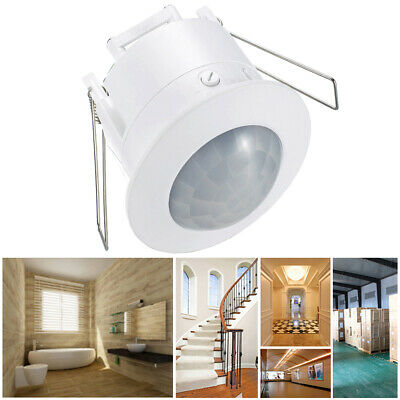Recessed Motion Sensor Infrared 360 Degree Switch Light PIR Occupancy Ceiling