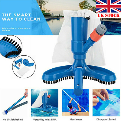 New Jet Vac Vacuum Cleaner + 5 piece Pole Swimming Pool Hot Tub Super UK