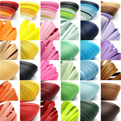 1 Bag 390x3mm Quilling Paper Strips about 120strips/bag For DIY Paper Crafts