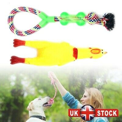 Dog Toys Puppy Rope Teething Chew Playtime Teeth Cleaning Cotton Rope Toys
