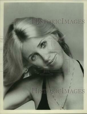 Press Photo Suzanne Somers, American actress, author and spokesperson.