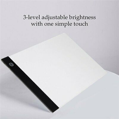 Dimmable USB A4 LED Drawing Pad Light Box Tracing Board Art Stencil Copy Table