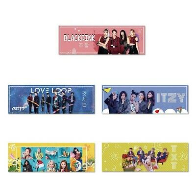 1PC BLACKPINK TWICE ITZY GOT7 TXT Support Banner Concert Airport Hang Up Poster