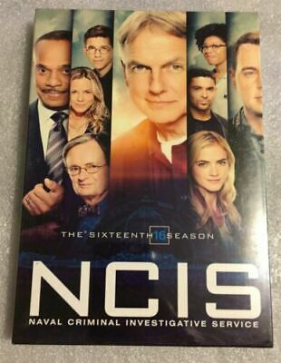 NCIS Season 16 DVD Complete 5 discs fifth Box Set Brand New sealed