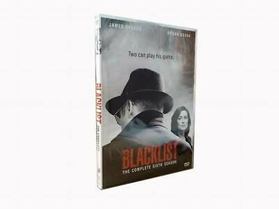 The Blacklist Season 6 DVD Complete 5 discs sixth Box Set Brand New sealed