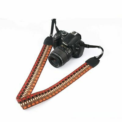 Retro Shoulder Belt SLR Camera with Backstrap Fine Stripe Backstrap Camera New