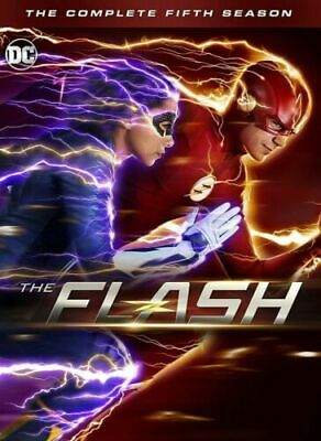 The Flash season 5 DVD Complete 5 discs fifth Box Set Brand New sealed