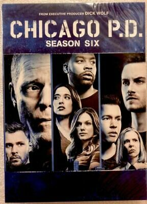 CHICAGO P.D season 6 DVD Complete 5 discs sixth Box Set Brand New sealed