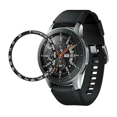 42/46MM Samsung Galaxy Watch Bezel Ring Adhesive Cover Anti Scratch Metal Steel