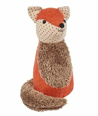 Cute Fox Fabric Doorstop Animal ~ Novelty Decorative Door Stop