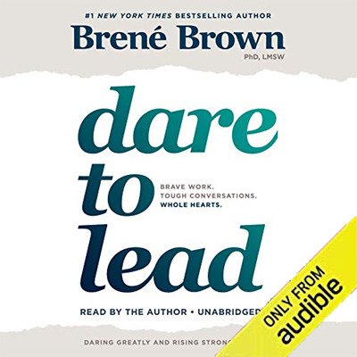 Dare to Lead 2018 by Brené Brown Audiobook mp3 Fast Download instant Delivery