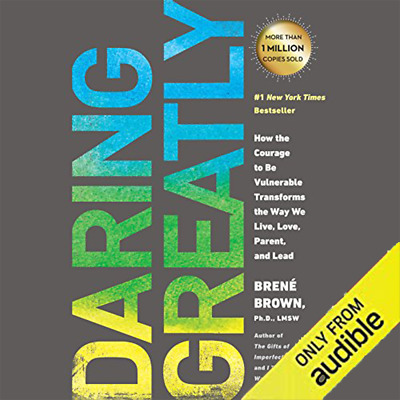 Daring Greatly 2018 by Brené Brown Audiobook mp3 Fast Download instant Delivery