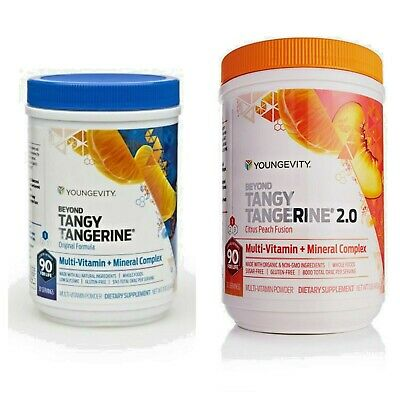 YOUNGEVITY - Beyond Tangy Tangerine BTT Peach 2.0 *canister - BTT Tablets