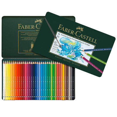 Faber Castell Albrecht Durer Watercolour Pencil Metal Tin Set of 36