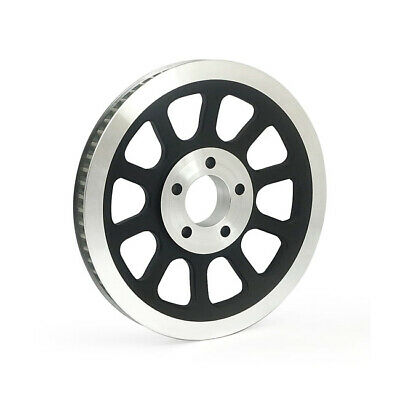 Black 66 Tooth 20mm Rear Pulley For Harley-Davidson Softail 2007 - 2011