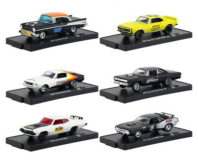 Drivers 6 Cars Set, Release 59 In Blister Packs 1/64 By M2 Machines 11228-59